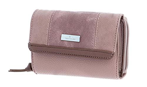 TOM TAILOR bags JUNA Damen Geldbörse one size, rose, 14x4x10