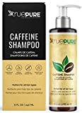 TruePure Caffeine Shampoo, Treatment Contains No Sulfates or Fragrance For Healthy Hair Growth and Hair Loss...