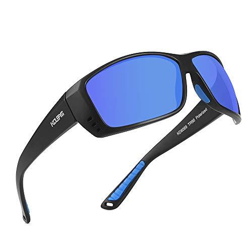 KDEAM TR90 Sunglasses Men Polarized and 100% UV Protection Sports Sun Glasses Women KD6069