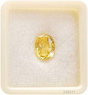 Amazon in: Yellow Sapphire - Loose Gemstones & Diamonds: Jewellery