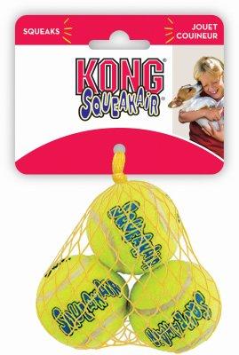 Kong Phillips AST3 Air Dog Tennisbälle für Hunde, Größe S, 48 Stück