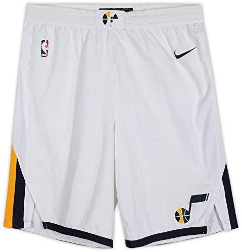 Ekpe Udoh Utah Jazz Game-Used #33 White Shorts from the 2017-18 NBA Season - Size 44+2 - Game Used NBA Shorts