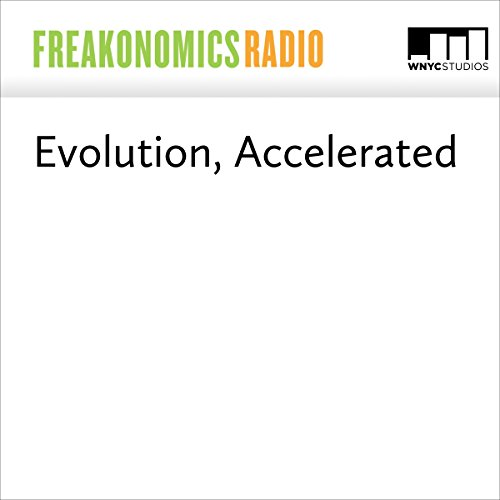 Evolution, Accelerated audiobook cover art