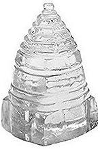 Finaldeals Sphatik Shri Yantra Pyramid Crystal Pyramid Shree Yantra - 52 gm
