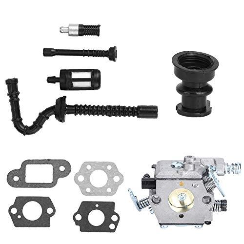Filtro de combustible Kit de tubería de entrada Accesorio de motosierra Piezas de motosierra Kit de carburador Filtro de aire Fácil de instalar Adecuado para MS210230250