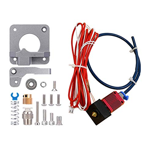 Camisin Creality Upgrade Aluminum Alloy Bowden Extruder and 24V 40W MK8 Hot End Kit for Ender 3/ Ender 3 Pro 3D Printer
