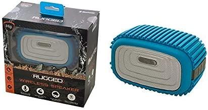 iHip Rugged Splash Resistant Wireless Bluetooth Speaker