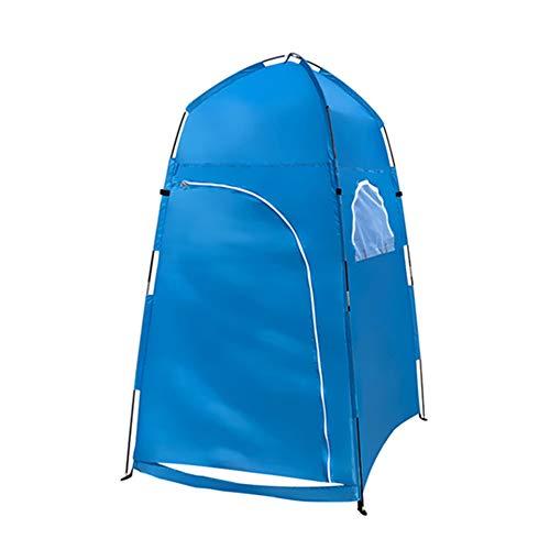 DAMAI Carpa De Privacidad Portátil Vestidor Extraíble Y Espacioso para El Baño Al Aire Libre Tejido De Poliéster Ripstop 210T para Exterior O Playa Parque,Azul