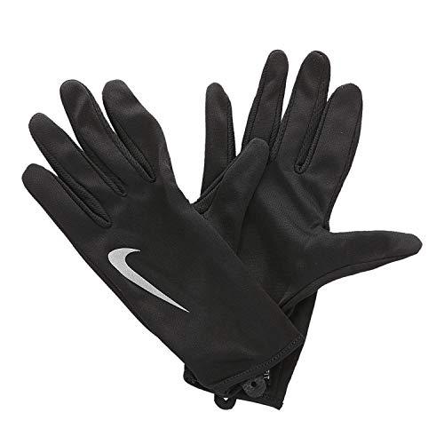 Nike Damen Dri-Fit Running Handschuhe Und Mützen, Black/Silver, S