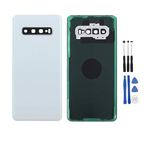 YHX-OU - Tapa Trasera de batería para Samsung Galaxy S10+ SM-G975F SM-G975U SM-G975W (no Apta para S10e o S10)