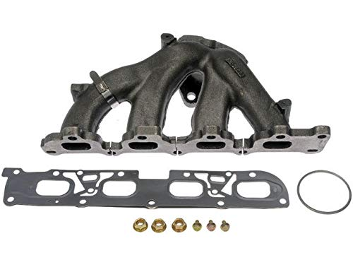 Exhaust Manifold with Gaskets and Hardware - Compatible with 2008-2014 Chevy Malibu 2.4L 4-Cylinder
