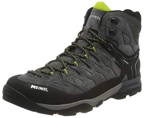 Meindl Wanderschuhe Trekkingstfl in Anthrazit/Lime Tereno Mid GTX, Größe 47 Chaussures. Mixte, Anthracite 201, 12