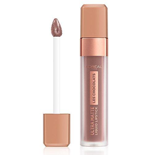 L'Oréal Paris Infaillible Ultra Matte Les Chocolats in Nr. 858 Oh my Choc!, Flüssig-Lippenstift...