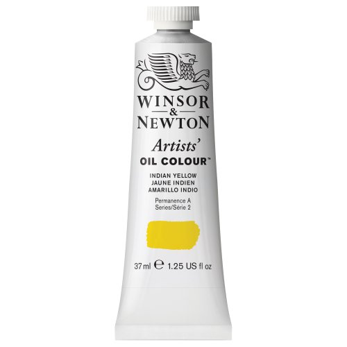 Winsor & Newton Artists' Oil Color Paint, 37-ml Tube, Indian Yellow