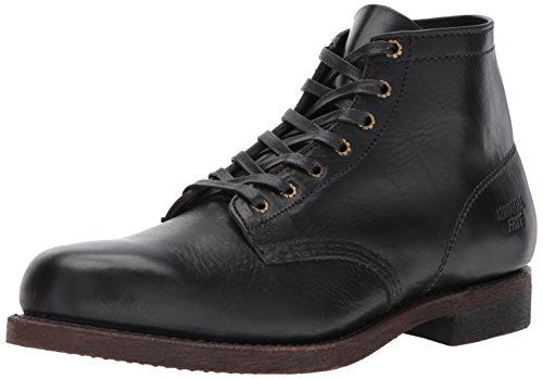 Frye Men's Prison Combat Boot, Black, 10 D US