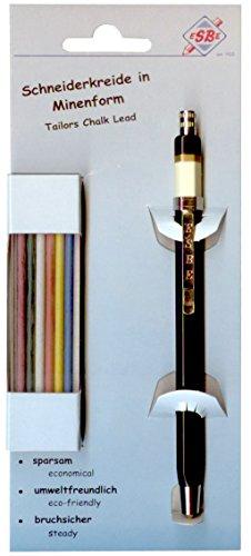 Steidl & Becker 307–11sb Tiza Minas Juego con Soporte y 12Minas distribuidas por Colores