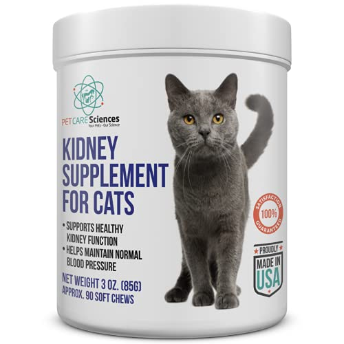 Top 10 best selling list for food supplements for cats with kidney issues