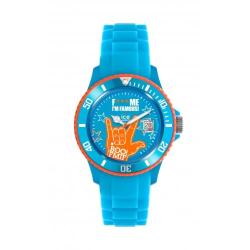 Ice-Watch Unisex-Armbanduhr Big XL F*** Me I'm Famous Blau boo  FM.SS.BEB.BB.S.11