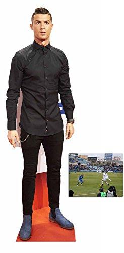 Fan Pack - Cristiano Ronaldo Fußballer Lebensgrosse und klein Pappaufsteller - mit 25cm x 20cm foto