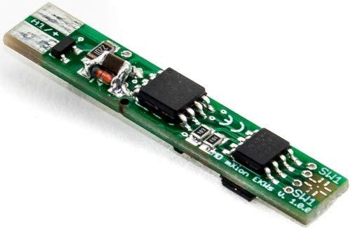 MDelectronics MD EKWs DCC - 1 Kanal Weichendecoder + 1 Funktionsausgang, Entkupplungsgleismodus