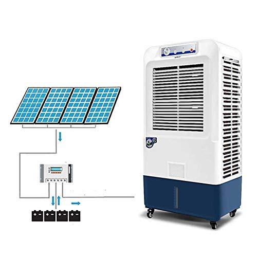 Lapden Enfriador de Aire evaporativo para Interiores y Exteriores - Ventilador de Aire Acondicionado de Grado Industrial - 6500m3 / H Flujo de Aire, Tanque de Agua 35L, 280W
