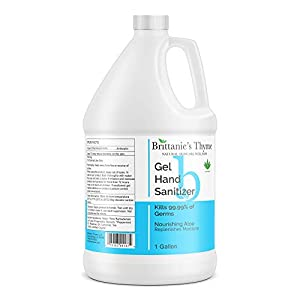 Brittanie's Thyme Hand Sanitizer Gel 1 Gallon