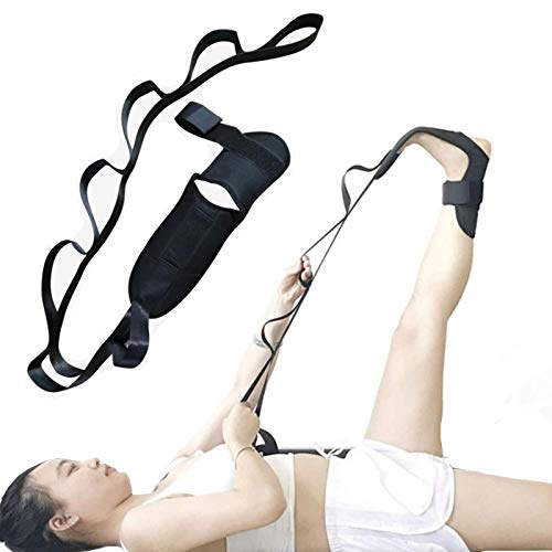 Boyigog Cinturón de Estiramiento de Ligamentos de Yoga, Correa elástica Ligamento de Yoga para Danza Gimnasio Rehabilitación Tensión
