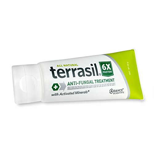 Terrasil Anti-fungal Treatment Max 50gm - 6X Faster Healing, Natural Soothing Clotrimazole OTC-Registered Ointment for Fungal Infections, Jock Itch, Male Yeast