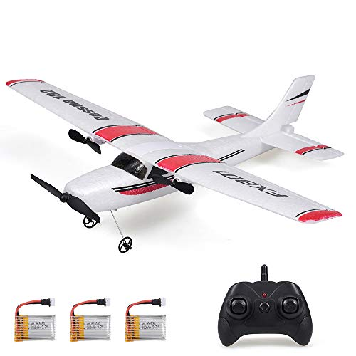 RC Airplanes FPV Wing 660mm Wingspan Glider 2 Channels 2.4Ghz RTF DIY Remote Control Airplane Toy EPP Built-in Gyro by Crazepony