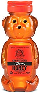 Nature Nate'S 100% Pure Raw & Unfiltered Texas Honey; 12-Oz. Bear Bottle; Sweet Southern Honey Just As Nature Intended; No...