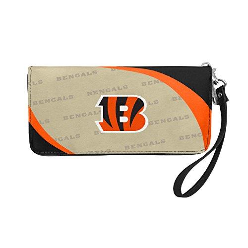 NFL Cincinnati Bengals Curve Zip Organizer Wallet