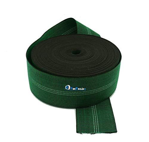 Cincha elástica de tapicería de 80 mm, correas de calidad para asientos de sofás, 24 metros