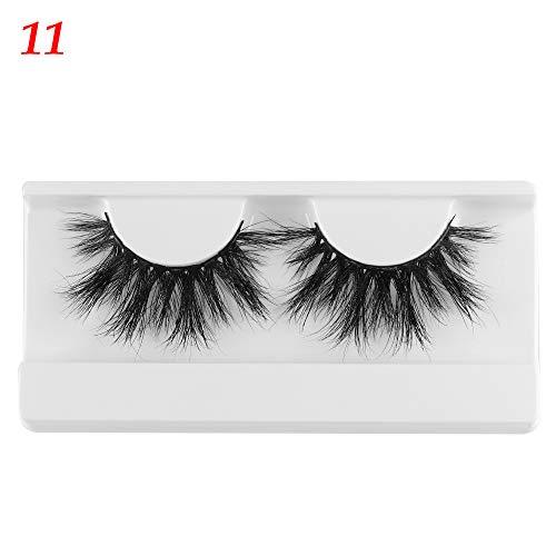 5D Mink Hair Wispies Fluffy False Eyelashes Woman's Fashion Dramatic Reusable Handmade Eye Lashes Extension