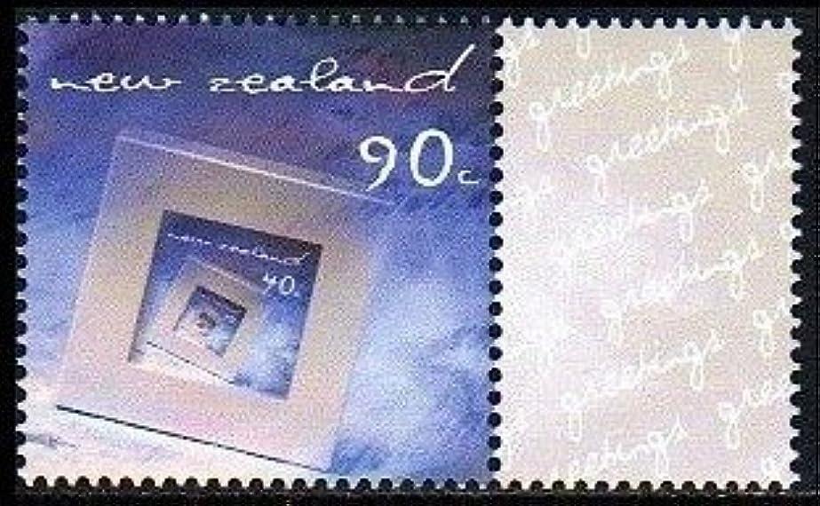 グループトラックいじめっ子フォトフレームのグリーティング切手 ニュージーランド発行1種