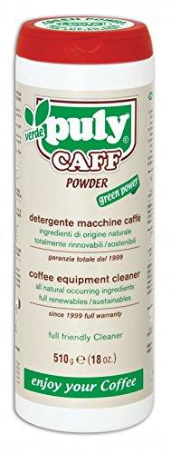 Bio de limpiador para cafeteras de espresso Sistema de preparación de Puly Caff 1000gr/Fabricado en Italia.