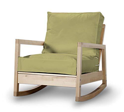 Dekoria Lillberg Sesselbezug Husse passend für IKEA Modell Lillberg Olive