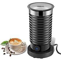 YISSVIC Batidoras Espumadoras de Leche Automáticas Espumador de Leche Frío y Caliente Revestimiento Antiadherente para Café Latte Cappuccino 210ml