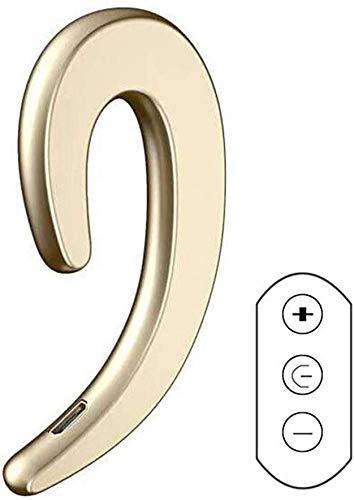 2021Latest ModernSound Bone Conduction Hook Earphone, Ear-Hook Bluetooth Headset with Mic Lightweight Noise Cancelling