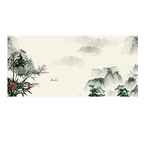 Neue minimalistische Schlafzimmer-Wandmalerei-Tapete des chinesischen Stils