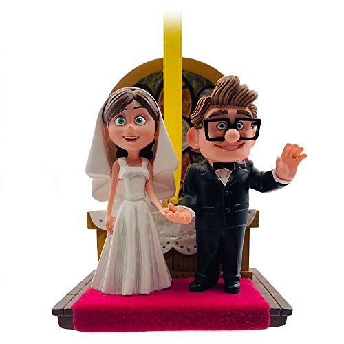 Disney Pixar Carl and Ellie Wedding Sketchbook Ornament – Up