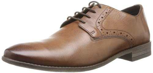 Clarks Men's Chart Walk Tan Antique Leather Formals and Lace-Up Flats