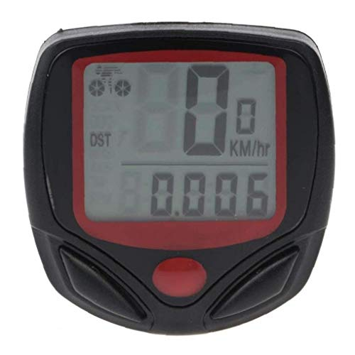 NaisiCore Profesional velocímetro de la Bici Impermeable del odómetro Bicicletas Velocidad de Seguimiento Exacto del velocímetro Incorporado batería Accesorios de Bicicletas