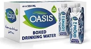 Oasis Still Water Tetra Pak, 330 ml (Pack of 18)