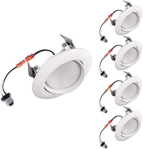 General LED-Stehlampen-Ersatzsatz, bidirektionaler Beat 4 Zoll (ca. 10,2 cm) weiß-4 Packung_5000K (Tageslicht)