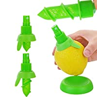 柑橘類の噴霧器、手動フルーツジュース噴霧器クリエイティブレモンジューサー果物と野菜のツール