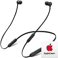 BeatsX ワイヤレスイヤホン-Apple W1ヘッドフォンチップ、Class 1 Bluetooth、マグネット式イヤーバッド、最長8時間の再生時間- ブラックとAppleCare+セット
