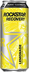 Rockstar Energy Drink, Recovery Lemonade, 16 Fl Oz Can