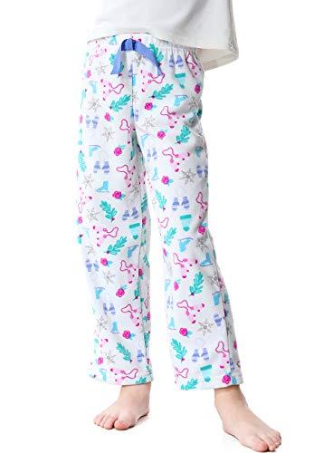 Image of Snowflake Winter Fun Pajama Pants for Girls - See More Prints
