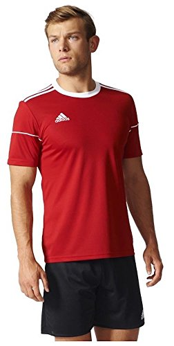 Adidas SQUAD 17 JSY SS POWRED/WHITE Herren, power red/White, M
