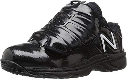 New Balance Men\'s MUL460K3 Umpire Baseball Shoe, Black, 10 4E US